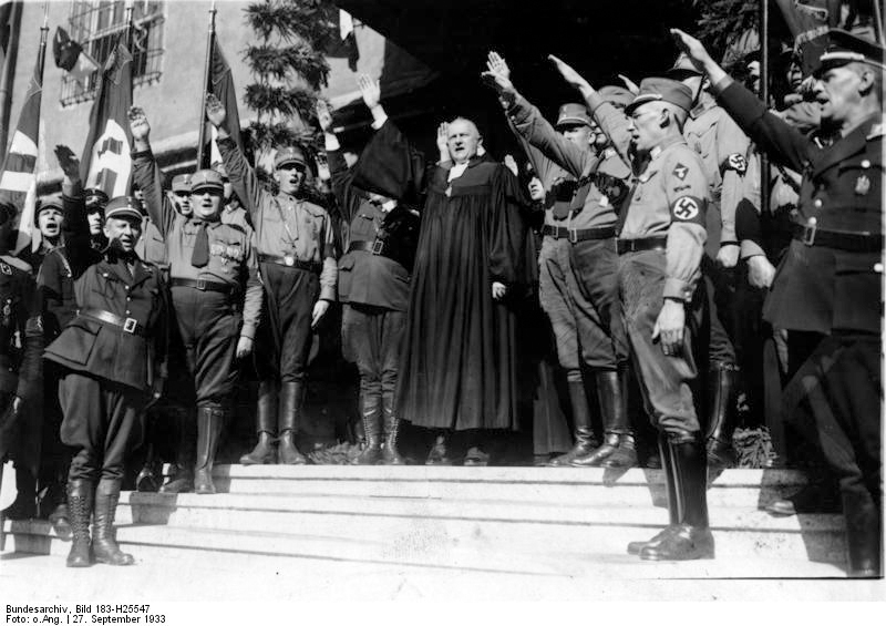 a history of the actions of the nazi towards christians and christian communities Classical and christian anti-semitism  jews were the subject of anti-semitism by christians because jews were viewed as evil and responsible for the crucifixion of .